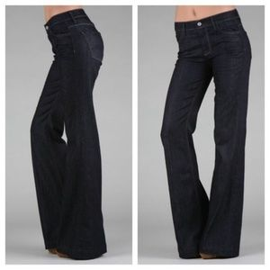 Seven For All Mankind Ginger Wide Leg Flare Jeans